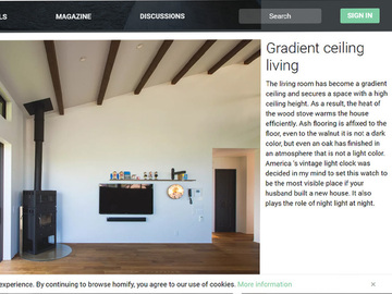 ドイツの建築家サイト homify に作品が掲載されました